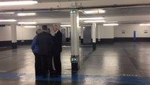 Visite du parking souterrain Foch à Trouville