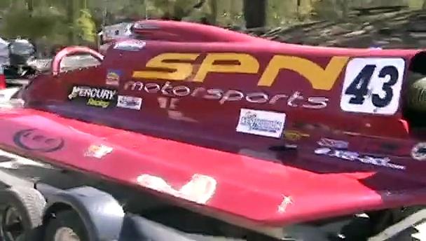 Formula one Champ Boat