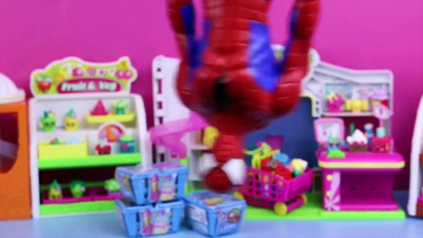 Spiderman Superhero Doll Surprise Blind Bags Small Mart Frozen Shopkins DisneyCarToys