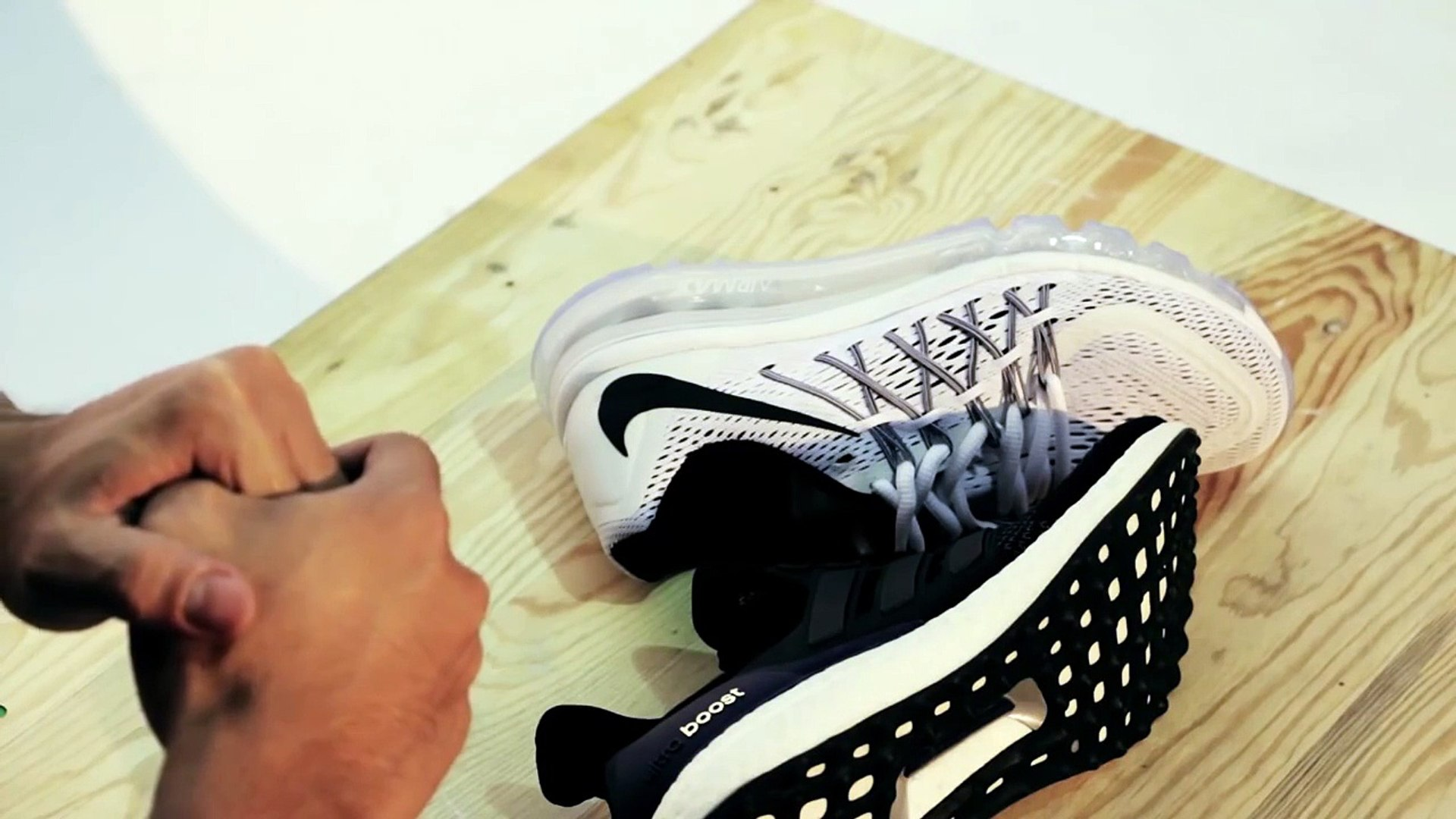 Review adidas Ultra Boost and Nike Air Max 2015 | SNKR Việt Nam (Sneaker Việt Nam).