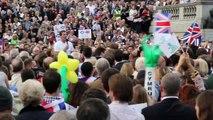 Trafalgar Square rally: Let's stick together, Scotland