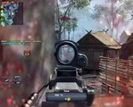 Call of Duty Black Ops - The Most Lucky Shot EVER and EVER !!!!