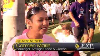 Race for the Cure with team Steinger, Iscoe and Greene