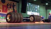 World's Strongest Man - World Record Deadlift 1155 pounds - Deadlift Videos