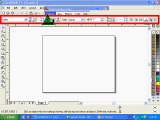 How to use 3 point Curve Tool in coral draw Urdu/Hindi lecture