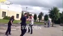 Swedish police VS. USA police
