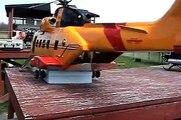 اكبر طائرة مروحية ريموت+بنزين