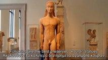 Greek Archaic Sculpture,Kouroi / Ελληνική Αρχαϊκή Γλυπτική, Κούροι