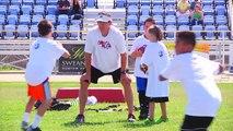 David Carr and Derek Carr's - Carr Elite Football Camp