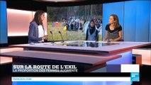 12/09/2015 FRMG ACTUELLES 110915 LES CHEMINS DE L EXIL PAROLES DE FEMMES MIGRANTES F24 FRANCE CONDITIONS DE VIE DES FEMMES REFUGIEES A CAL
