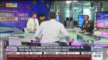 Nicolas Doze: Grèce: Tant que la BCE est là, les marchés ne devraient pas s'écrouler - 29/06