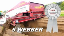ScanStone Rock picker / De-Stoner / Stone Picker / Stone Separator (5 Webber)