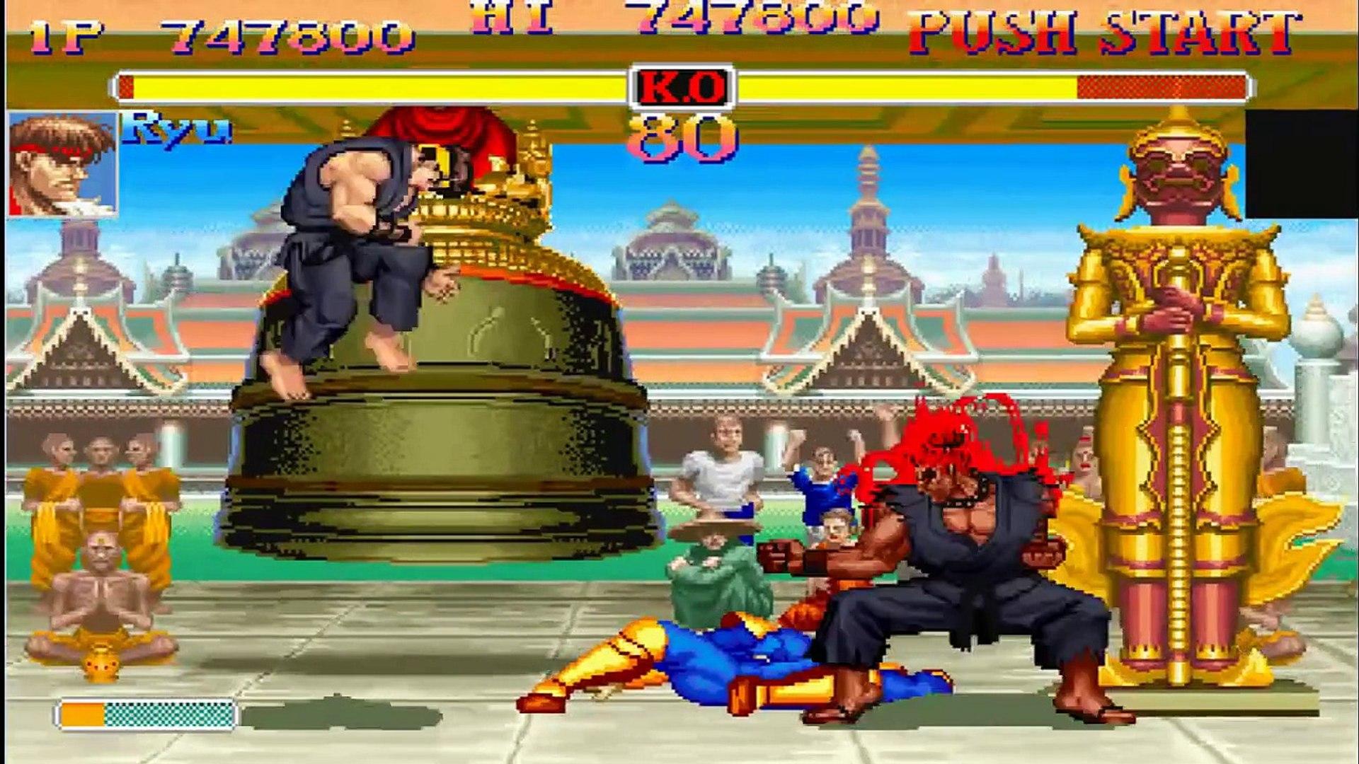 Resultado de imagen de super street fighter 2 turbo akuma