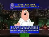 peter griffin on david letterman