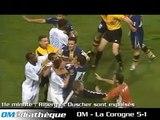 Olympique de Marseille - Finale Intertoto le 23-08-05 - OM-La Corogne 5-1.avi