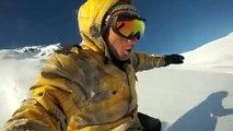 snowboard go pro 2012 val louron PYRÉNÉES