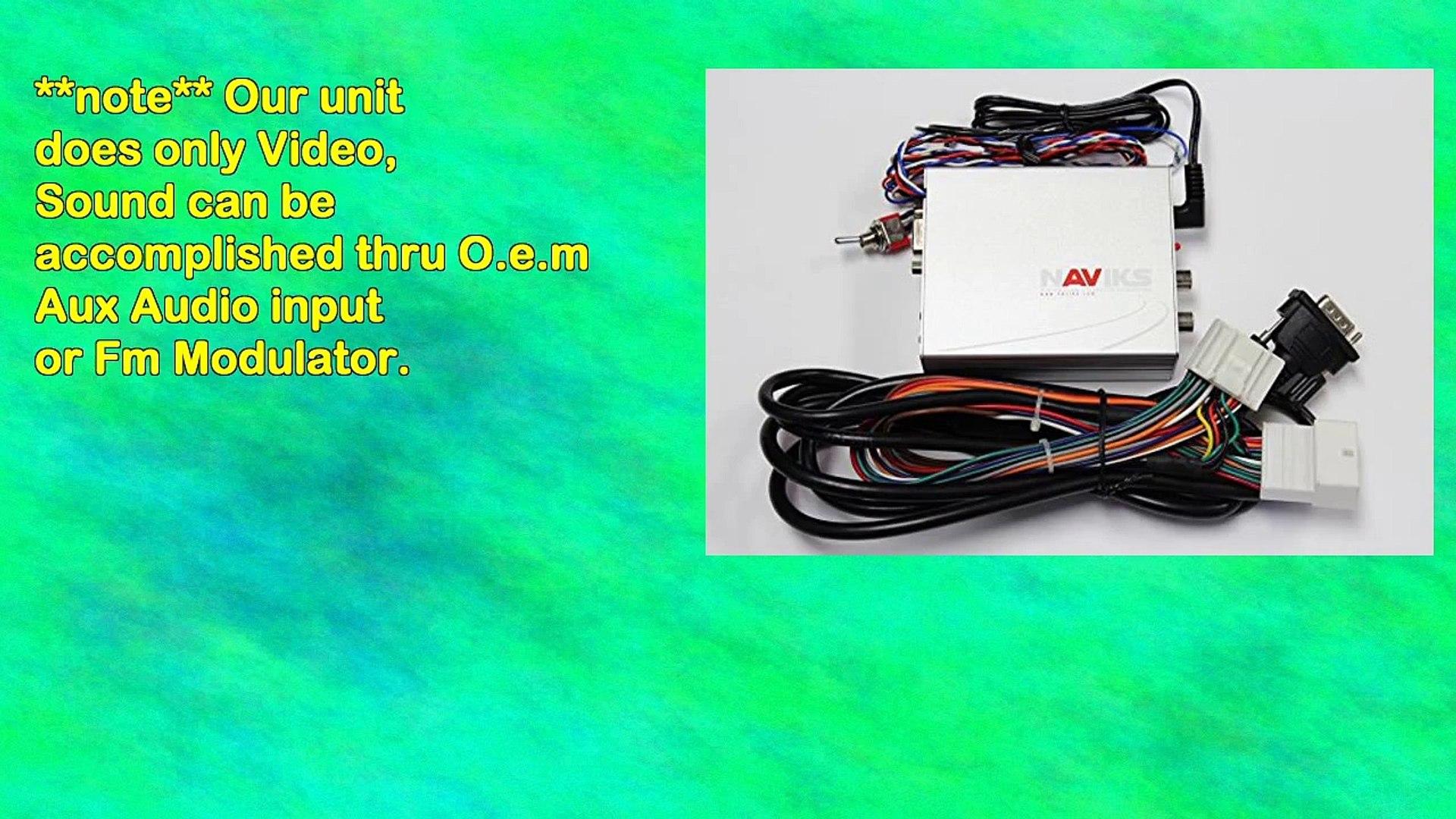 Nissan Quest 2004 2006 Navigation Video Interface Add Tv Dvd