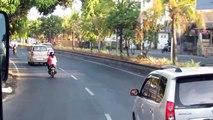 Driving in Denpasar, Bali