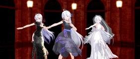 [MMD HD]Girls 弱音ハク(yowane haku ) / China Dress/ONE PIECE/ Wedding Dress ver