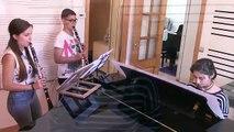 Composición Dragonfly - Piano y Dos Clarinetes (La Bohème 2015)