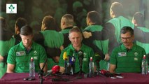 Irish Rugby TV: Ireland's Rugby World Cup Squad Press Conference