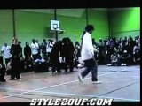 Juste debout popping