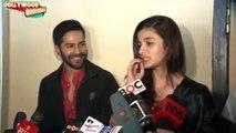 "Alia Bhatt & Varun Dhawan Promote ""Humpty Sharma Ki Dulhaniya"" at Cinemax Versova"