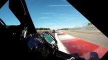 Circuit de Dijon-Prenois Gyroscopic camera GSXR 1000 vs Honda CBR 1000 Repsol