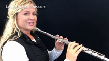 how to hold the flute tutorial ,  Learn Flute Online Flute Lessons with Rebecca Fuller