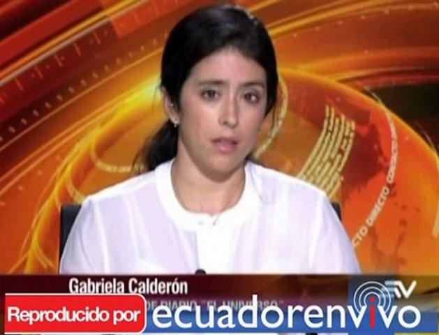 """""""La burbuja del sector público va a reventar"""", quieran o no, advierte Gabriela Calderón"""