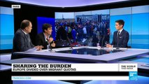 Sharing the burden: Europe divided over refugee quotas (part 1)