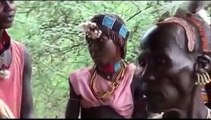 İsolated Hamer tribes hard life near the omo River