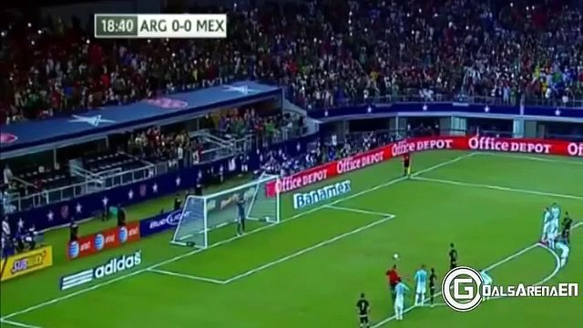Argentina vs Mexico 2-2 All Goals and highlights 2015 HD