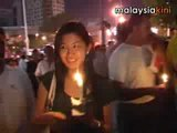 Anti-ISA vigil turns into peace march