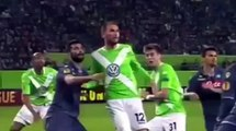 Funny football Wolfsburg vs Napoli 1 4 All Goals & Highlights 16 4 2015 Europa League & Highlights Goals