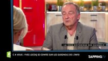 """C à Vous : Pour Yves Lecoq, Vincent Bolloré veut être """"le maître du jeu"""" au sujet des Guignols"""