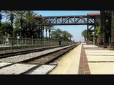 Railfanning Fullerton Station 8-16-11 - BNSF and Amtrak