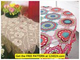 crocheted tablecloth free crochet tablecloth patterns vintage crochet tablecloths patterns