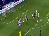 Edinson Cavani Amazing Free Kick Paris Saint Germain v FC Girondins Bordeaux