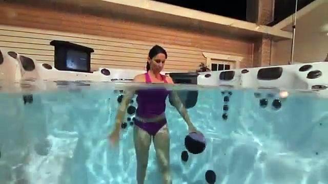 Premium Twilight Aqua-Fitness Exercise & Wasser Aerobic Pools von Master Spas®