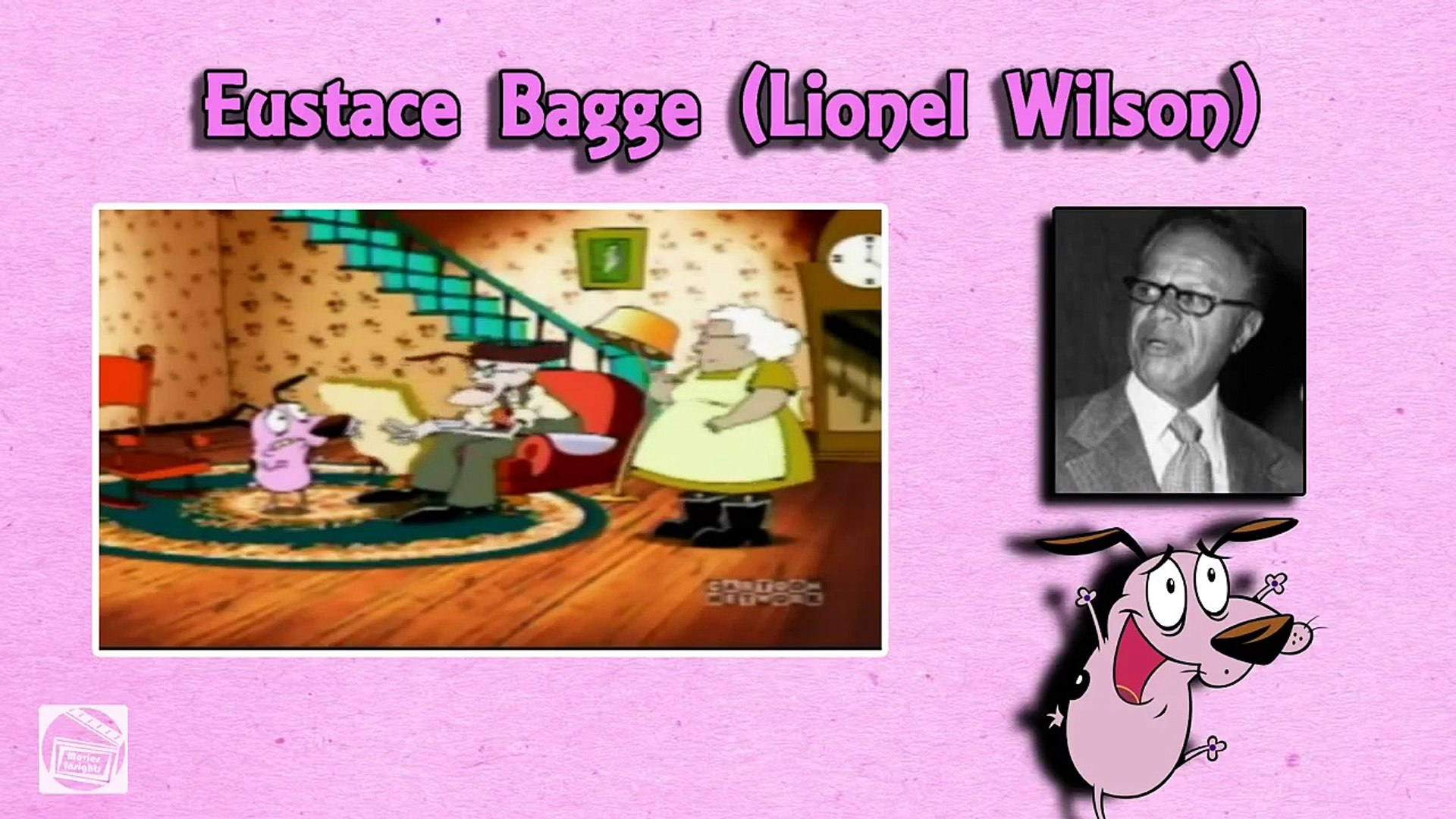Behind The Voices   Courage the Cowardly Dog