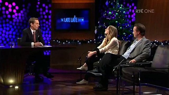 Saoirse Ronan & Paul Ronan on The Late Late Show December 17, 2010