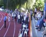 Dekoracja 800m mężczyzn Mistrzostwa Polski Juniorów Białystok 2010