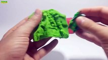 Play Doh Colorful Roll Surprise Eggs Shopkins Mickey Mouse Spiderman Ben 10 Thomas Hello Kitty
