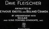 Popeye the Sailor -- I Eats My Spinach # 3 November 17, 1933