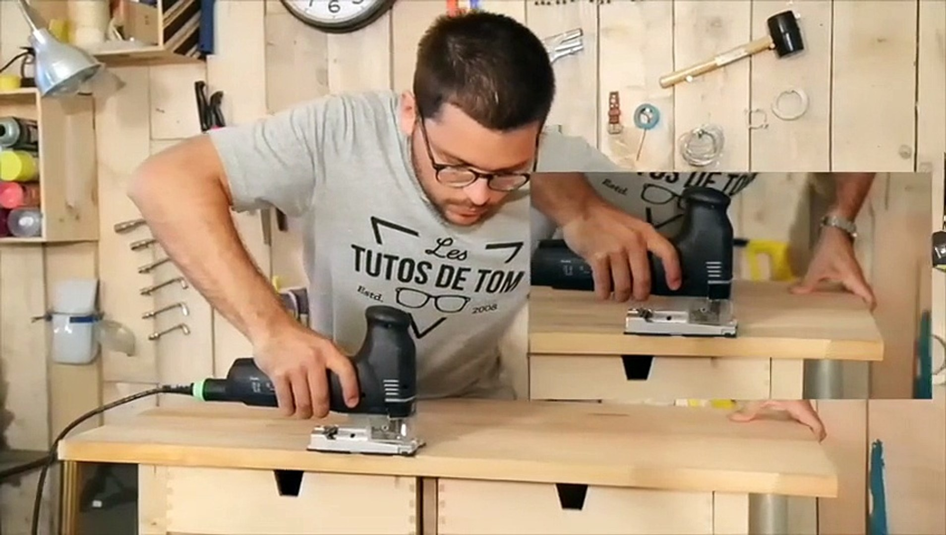 Fabriquer Une Table Escamotable diy : fabriquer une table à repasser avec des meubles ikea
