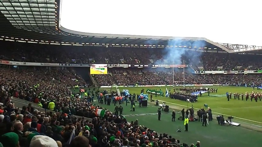2013.02.14 Scotland v Ireland - 6 Nations 2013 - Murrayfield Stadium, Edinburgh