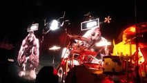 Shaka Ponk - Drums Battle - 10/09/15 - Melkweg, Amsterdam