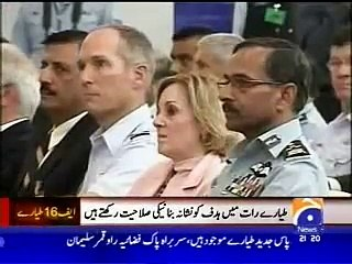 Pakistan Air Force New F16 Block 52 Fighter Jets.flv