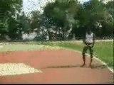 CAPOEIRA - Treinamento saltos...